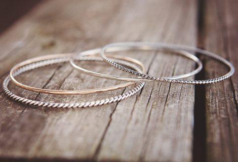 {NEW} layering bangles