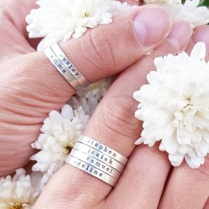 social media winner – rings on fingers, rings on thumbs!