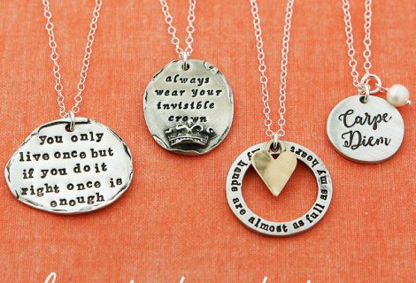 NEW inspirational necklaces, on sale and ready to ship!