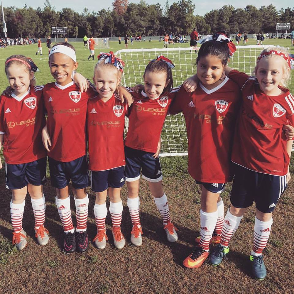 TSC '08 Crushers soccer team playing at Disney World 3v3 soccer tournament