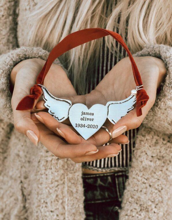 a piece of my heart is in heaven model