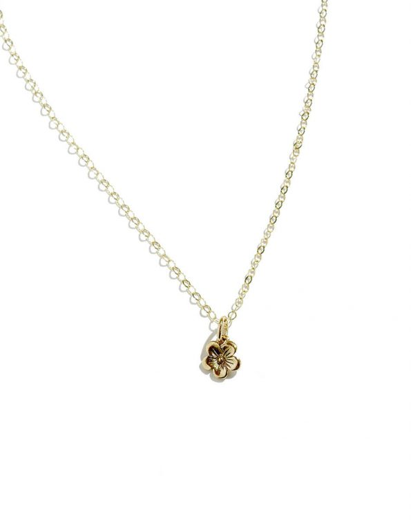 Beautiful Girl, You Can Do Hard Things Gold Necklace