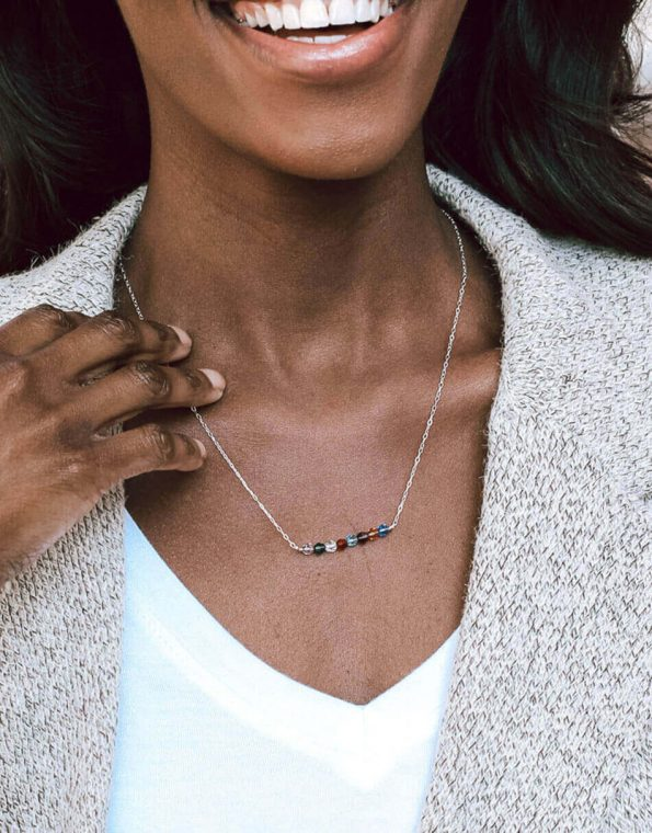 custom-birthstone-bar-necklace-model-2