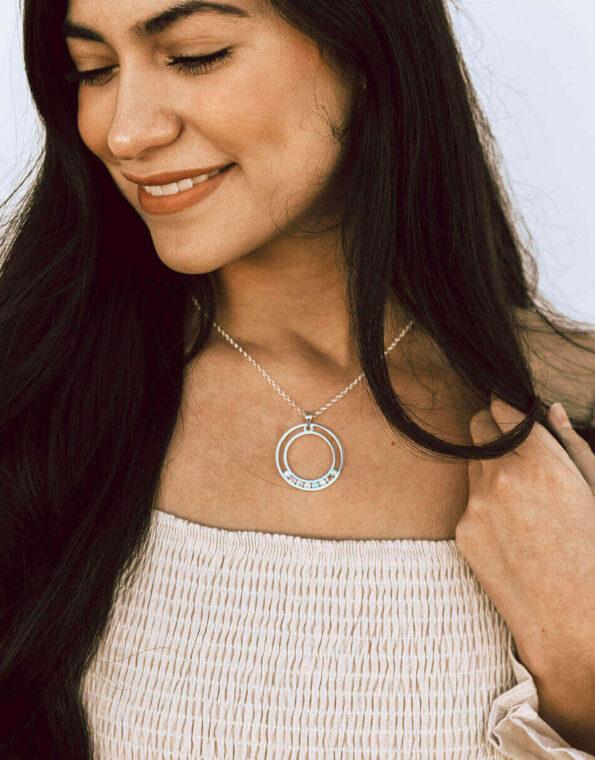 custom-circle-birthstone-necklace-model