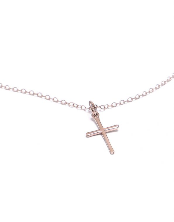 dainty-rose-gold-cross-necklace