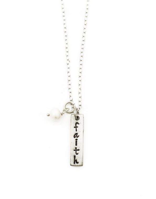 The Faith Of A Mustard Seed Charm Necklace