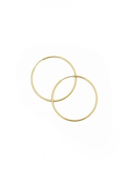 Beautiful endless gold-filled hoops are fun and perfect gift for any occasion. Gift them to your sister, friend, daughter or even wife
