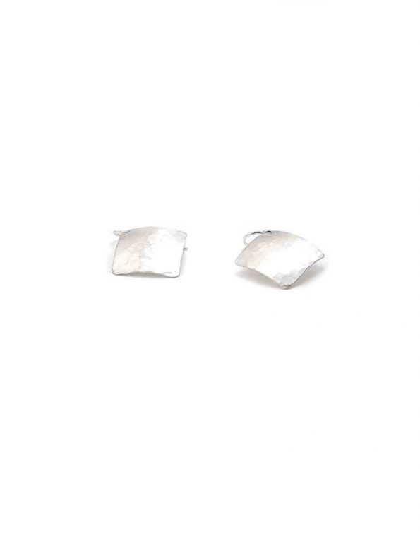 hammered-silver-earrings-2