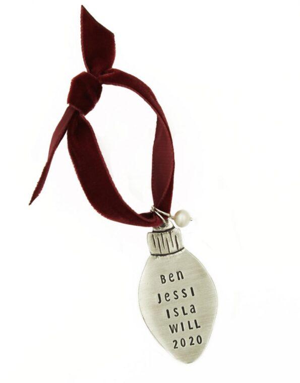 Classic Christmas Light Ornament