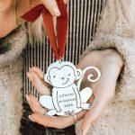 monkey ornament model