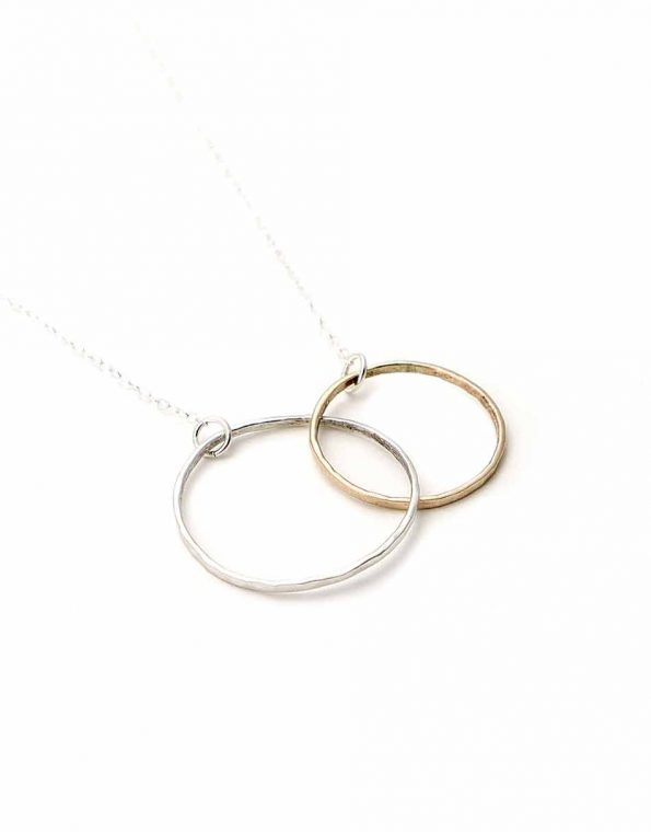 silver-and-gold-circle-dainty-necklace-1